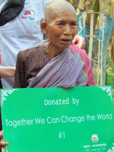 Well donated by Together We Can Change The World